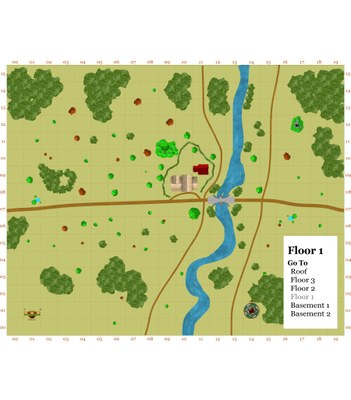 Giants of the Ettenmoors & Beyond Map 2   The Last Inn & Bridge Area Floor 1