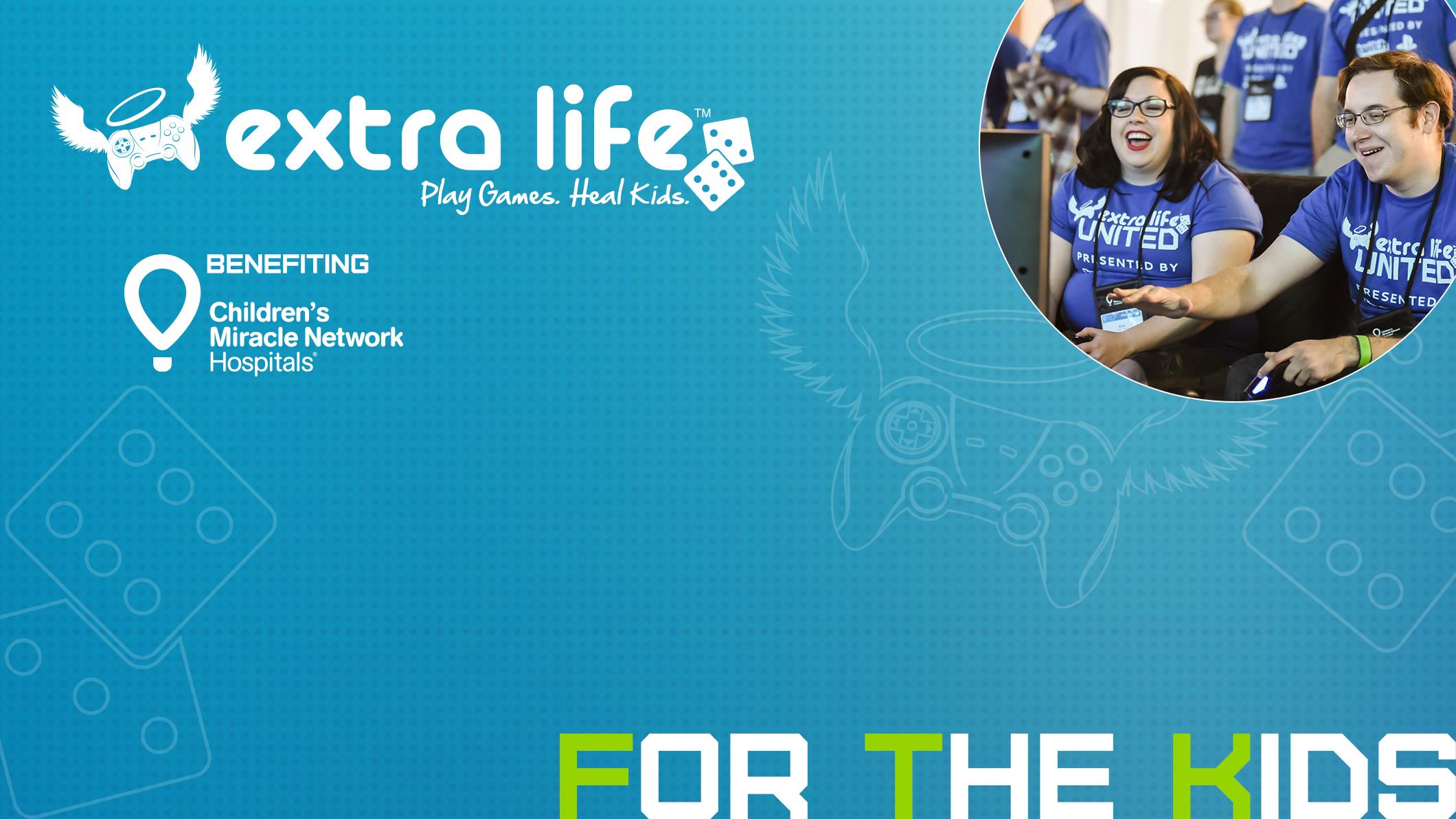 Extra Life 24 hour Gaming Event November 7, 2015